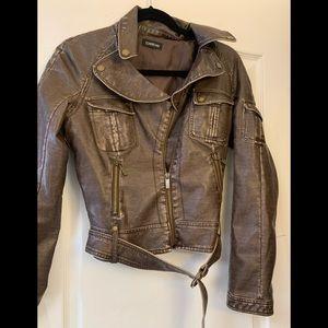 Cropped Bebe jacket sz sm 4-6 rarely worn
